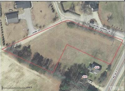 Harnett County Residential Lots & Land For Sale: Nc 55 Highway