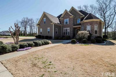 Garner Single Family Home For Sale: 73 Club Hill Drive