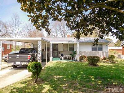 Raleigh Single Family Home Contingent: 509 Calloway Drive