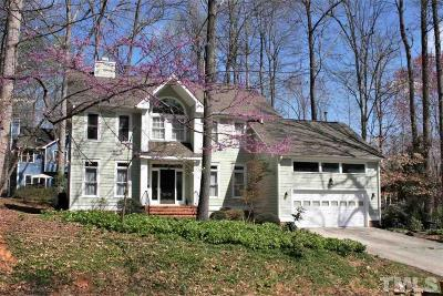 Carrboro Single Family Home For Sale: 300 Bolin Creek Drive
