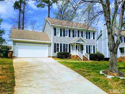 Cary Single Family Home Contingent: 102 Brass Ring Court