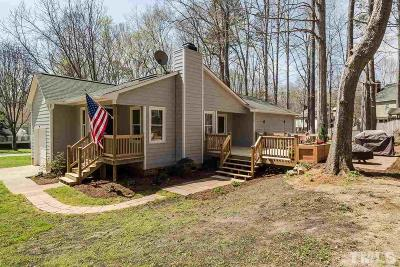 Cary Single Family Home Contingent: 105 Shotts Court
