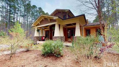 Chatham County Single Family Home For Sale: 292 Turtle Creek Drive