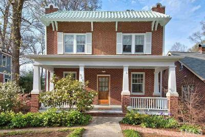 Durham Single Family Home Contingent: 922 Urban Avenue
