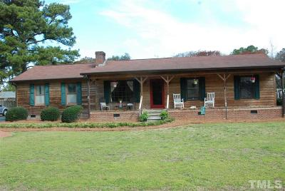 Dunn Single Family Home Contingent: 220 Robin Loop Road