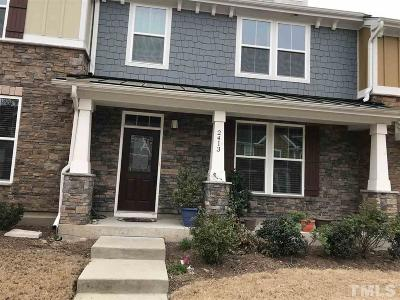 Morrisville Townhouse For Sale: 2413 Historic Circle