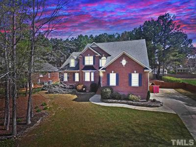 Fuquay Varina Single Family Home For Sale: 5912 Brushy Meadows Drive