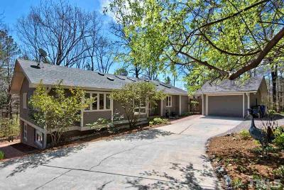 Chapel Hill Single Family Home For Sale: 623 Arlington Street