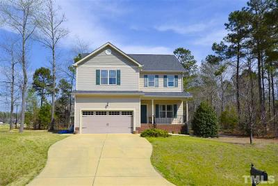 Angier Single Family Home For Sale: 462 Everland Parkway