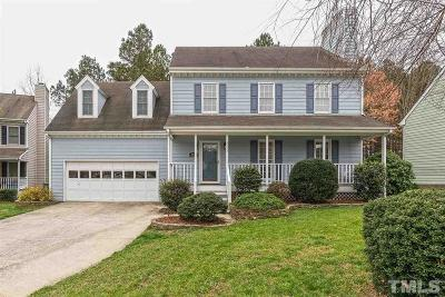 Raleigh Single Family Home Contingent: 4533 Birmingham Way