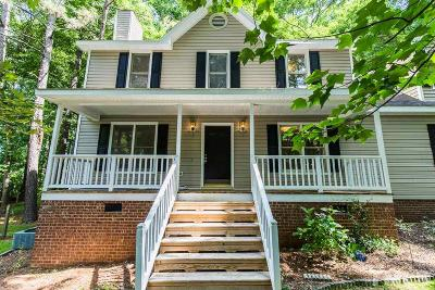 Raleigh Single Family Home For Sale: 6121 Jordan Woods Drive