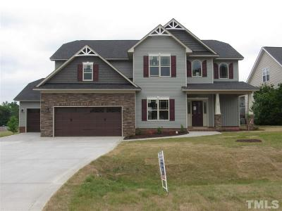 Knolls At The Neuse Single Family Home For Sale: 138 Claymore Drive