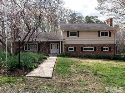 Alamance County Single Family Home For Sale: 3531 S Jim Minor Road