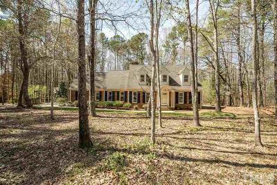 Chapel Hill Single Family Home For Sale: 56 Cedar Hills Circle