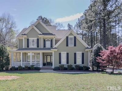 Raleigh Single Family Home Contingent: 1016 Mountain Laurel Drive
