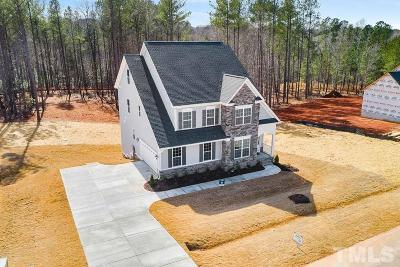 Holly Springs Single Family Home For Sale: 113 Old Ballentine Way