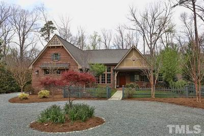 Chapel Hill Single Family Home For Sale: 106 Pine Lane