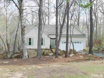 Chapel Hill Single Family Home For Sale: 509 Stonehill Road