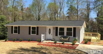 Holly Springs Single Family Home Pending: 209 Holly Acres Road