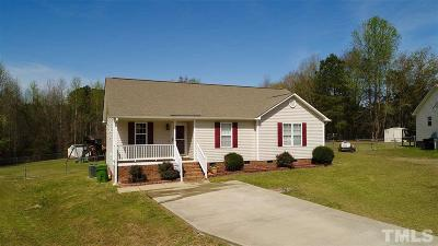 Johnston County Single Family Home Contingent: 88 Chickadee Court