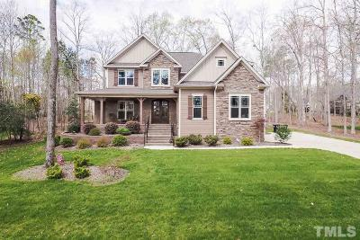 Johnston County Single Family Home Contingent: 57 Windham Way