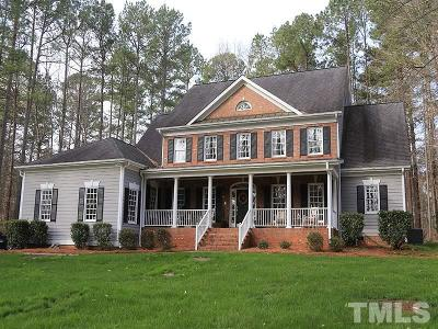 Wake Forest Single Family Home For Sale: 2508 Canonbie Lane