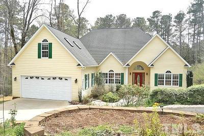Pittsboro Single Family Home For Sale: 114 Bynum Ridge Road