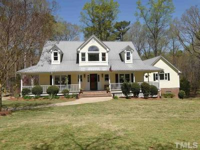 Single Family Home For Sale: 4000 Yates Mill Pond Road