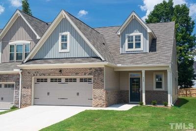 Wake Forest Townhouse For Sale: 539 Brunello Drive #22