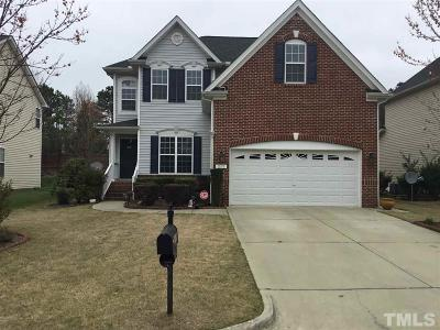 Cary Single Family Home Contingent: 217 Mabley Place