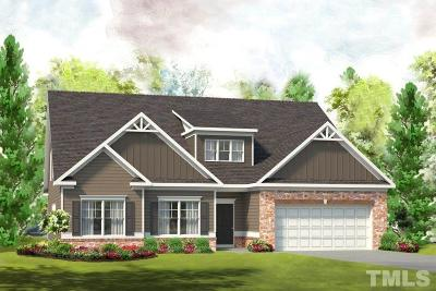 Garner Single Family Home Pending: 241 Springhill Lane #Lot 20