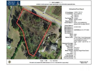 Johnston County Commercial Lots & Land For Sale: Cleveland Road