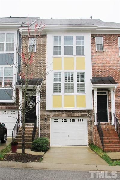 Wake County Townhouse For Sale: 1020 Summerhouse Road