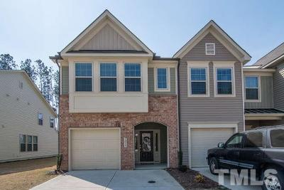 Rolesville Townhouse Pending: 1015 Grand Ridge Drive