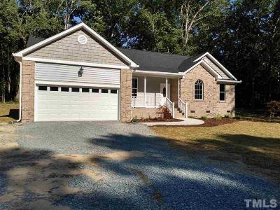 Chapel Hill Single Family Home For Sale: 3117 Butler Road