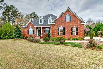Holly Springs Single Family Home For Sale: 4600 Catapult Court