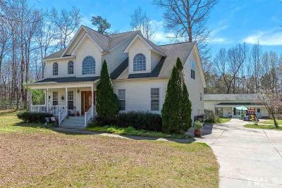 Louisburg Single Family Home For Sale: 554 Cooke Road
