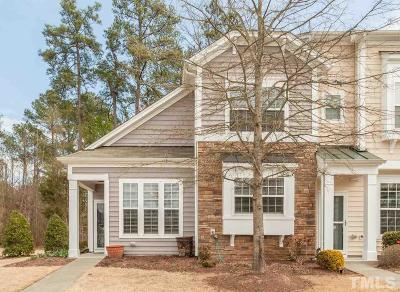 Morrisville Townhouse For Sale: 1001 Denmark Manor Drive