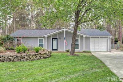 Cary Single Family Home Contingent: 1829 Tarbert Drive