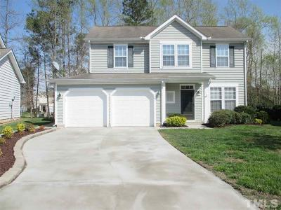 Rolesville Single Family Home Contingent: 313 Scarcliffe Court