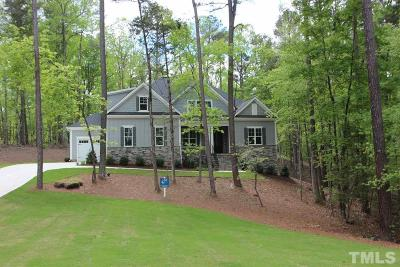 Pittsboro Single Family Home For Sale: 168 Gentry Drive