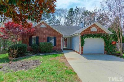 Wake Forest Single Family Home Pending: 900 Finchurch Circle