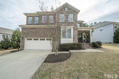 Cary Single Family Home Contingent: 444 Sandy Whispers Place