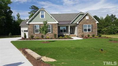 Wake Forest Single Family Home Contingent: 8712 Halsey Lane