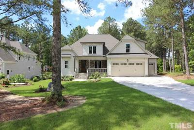 Wake Forest Single Family Home For Sale: 5020 Grove Crossing Way