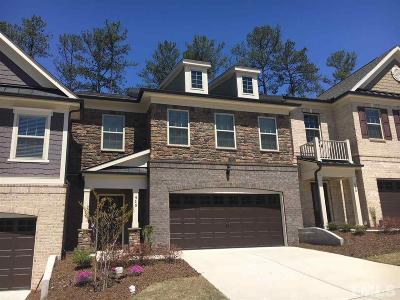 Cary Townhouse For Sale: 410 Bent Tree Lane