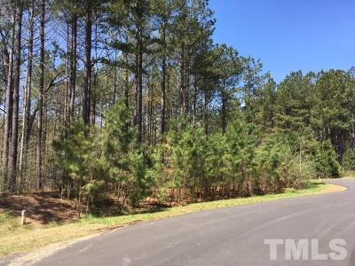 Chatham County Residential Lots & Land For Sale: 67 Spring Hollow Court