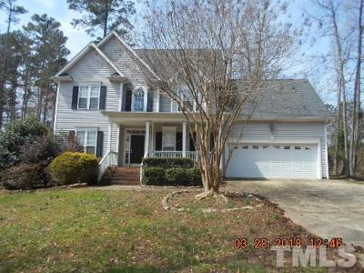 Youngsville Single Family Home Pending: 100 Ballinger Drive