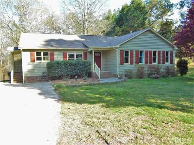 Hillsborough Single Family Home Pending: 1006 River Forest Drive