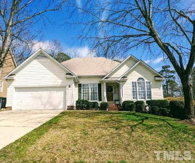 Knightdale Single Family Home Pending: 1214 Bishopton Way